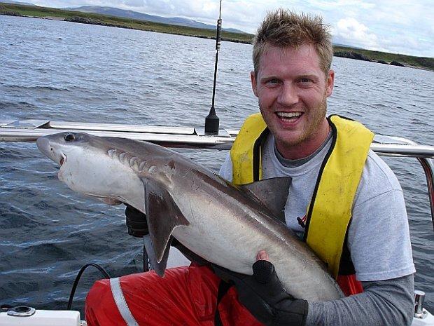 Tope Fishing on Islay